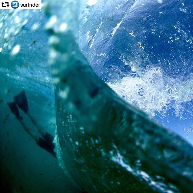 "#repost @surfrider ・・・ ""You are a function of what the whole universe is doing in the same way that a wave is a function of what the whole ocean is doing."" #WorldOceansDay 〰️〰️〰️ 📸: @morganmaassen 🎙: #AlanWatts"
