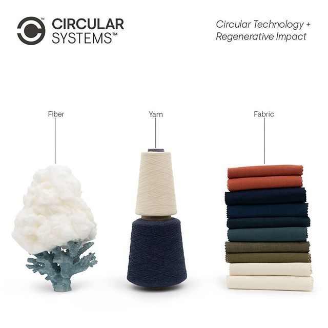 We transform waste into valuable fiber, yarn, and textile products for the fashion industry. #circularsystems #circulareconomy #sustainablefashion