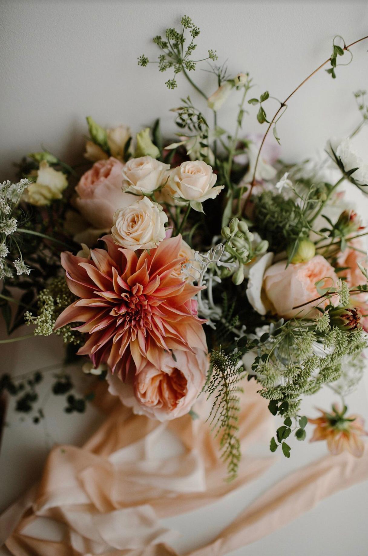 garden flower bouquet