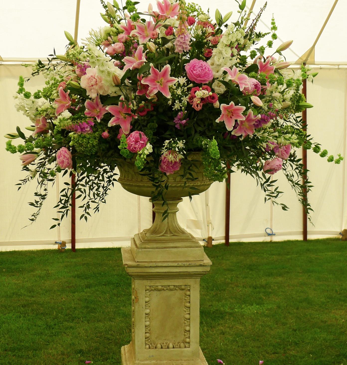 big urn. great horkesley
