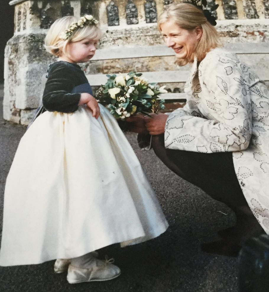tiny bridesmaid