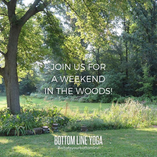 BLY's first official retreat May 3rd-5th, 2019with Amanda Steinken and Lauren Goggins! Join us for a beautiful Wisconsin getaway at an organic farm in West Bend, Wisconsin, near Kettle Moraine. Email info@bottomlineyoga.com for more information!  #yogaretreat #wisconsinyogaretreat #weekendinthewoods #organicfarm #farmtotable #yoga #meditation #restandrestore #nature #hiking #homemademeals #weekendgetaway #bottomlineyoga #whatsyourbottomline #mybottomline #chicagoyoga #yogachicago #chicago #chicagoloop #yogaintheloop #chicagoyogacommunity