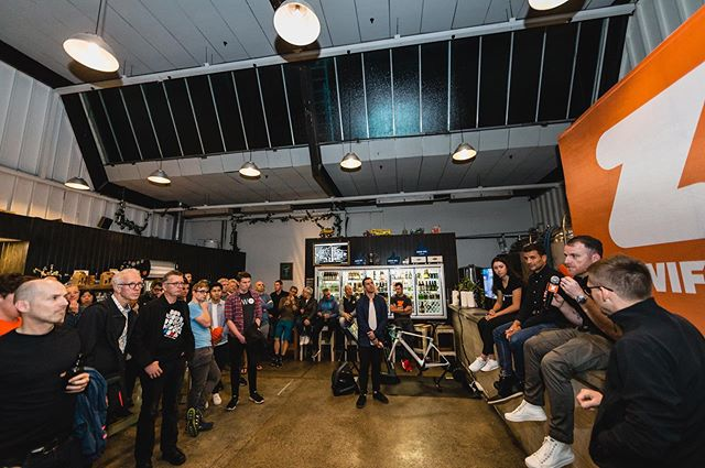 We hosted a panel 'the state of NZ cycling' during the Zwift Auckland event last night. It was good to engage the crowd, hear where the sport is heading and how athletes are using online training platforms. #NZCJ | #Zwift
