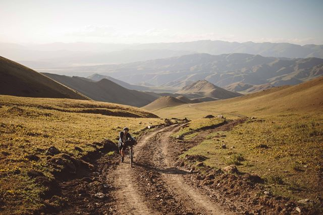 "Story: Surviving the Silk Road ""My legs had given, barely able to walk, the day demanded a 20km half-marathon limp to finish. I saw no way out but through. All thoughts of prior experience vanished."" Photo: @tomhardies #SilkRoadMountainRace"