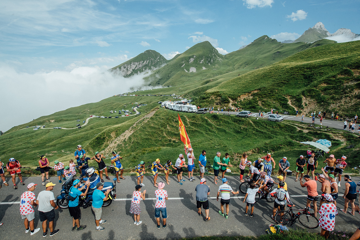 """- """"The Tour has set the stage for a blockbuster premiere with its third finish being over 2000 metres, something that has never been done before."""""""