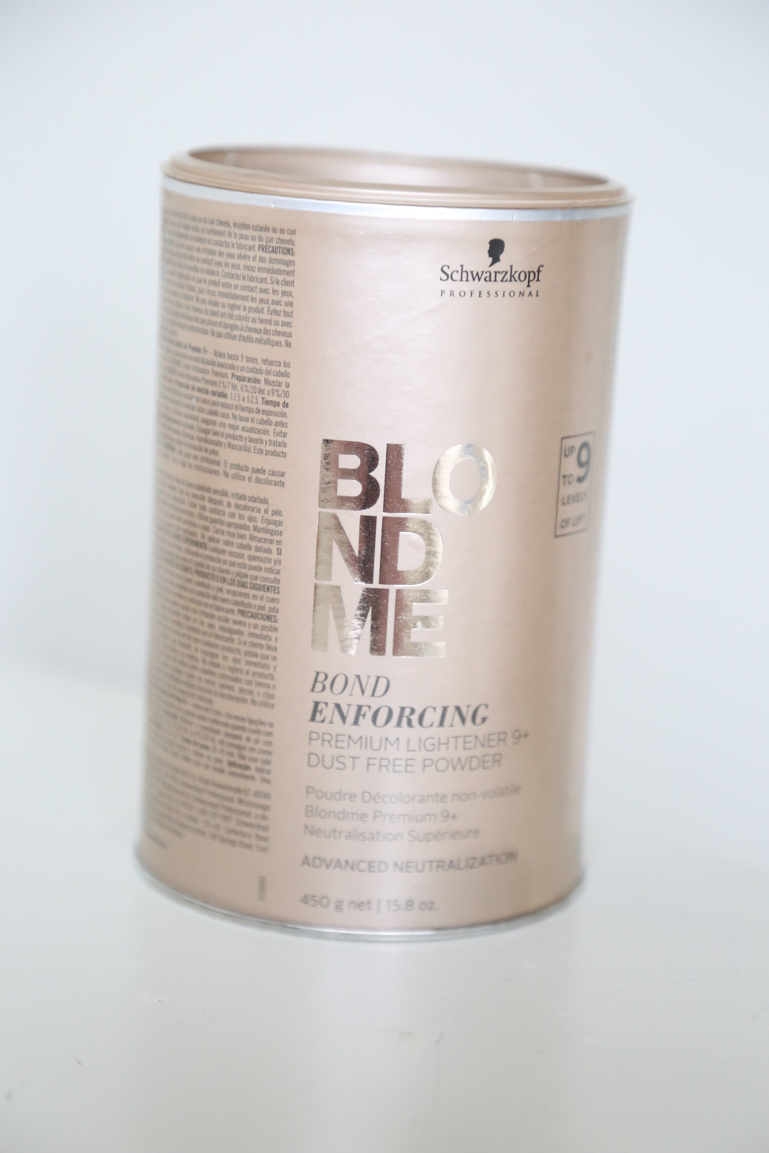 STEP 1: Bleach - Really good bleach is important.   I have used Wella and Redken but this one is my favorite.   It has bonding technology so no need for any additives. It lifts quickly and keeps the hair in good shape.