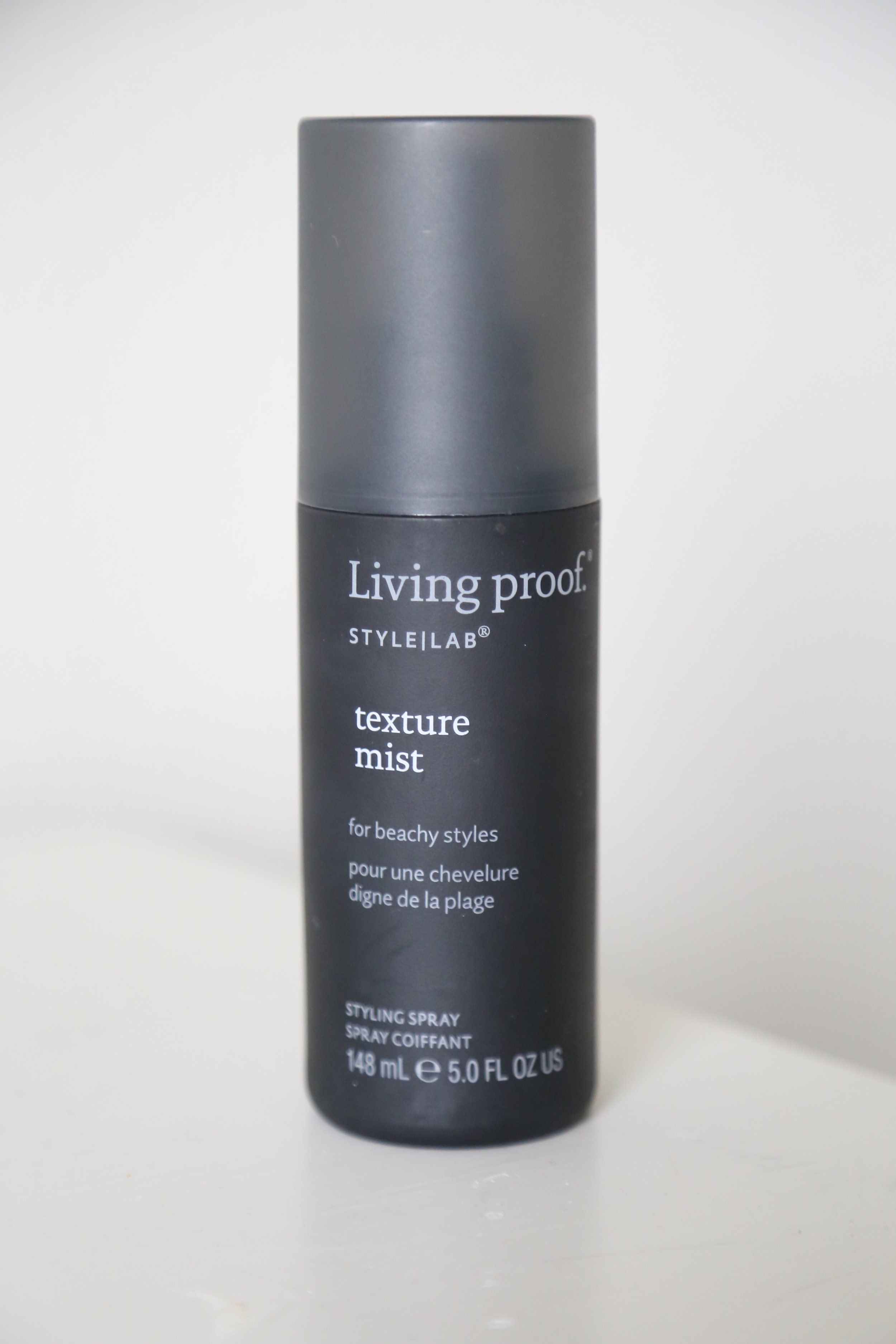 STEP 7: Texture - I have fine hair that wants to lay flat no matter what I do.  This spray adds texture without adding weight and lasts all day.