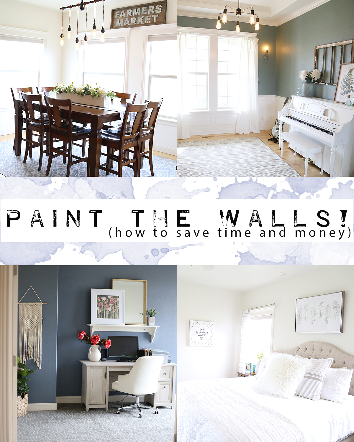 Save Time and Money Painting