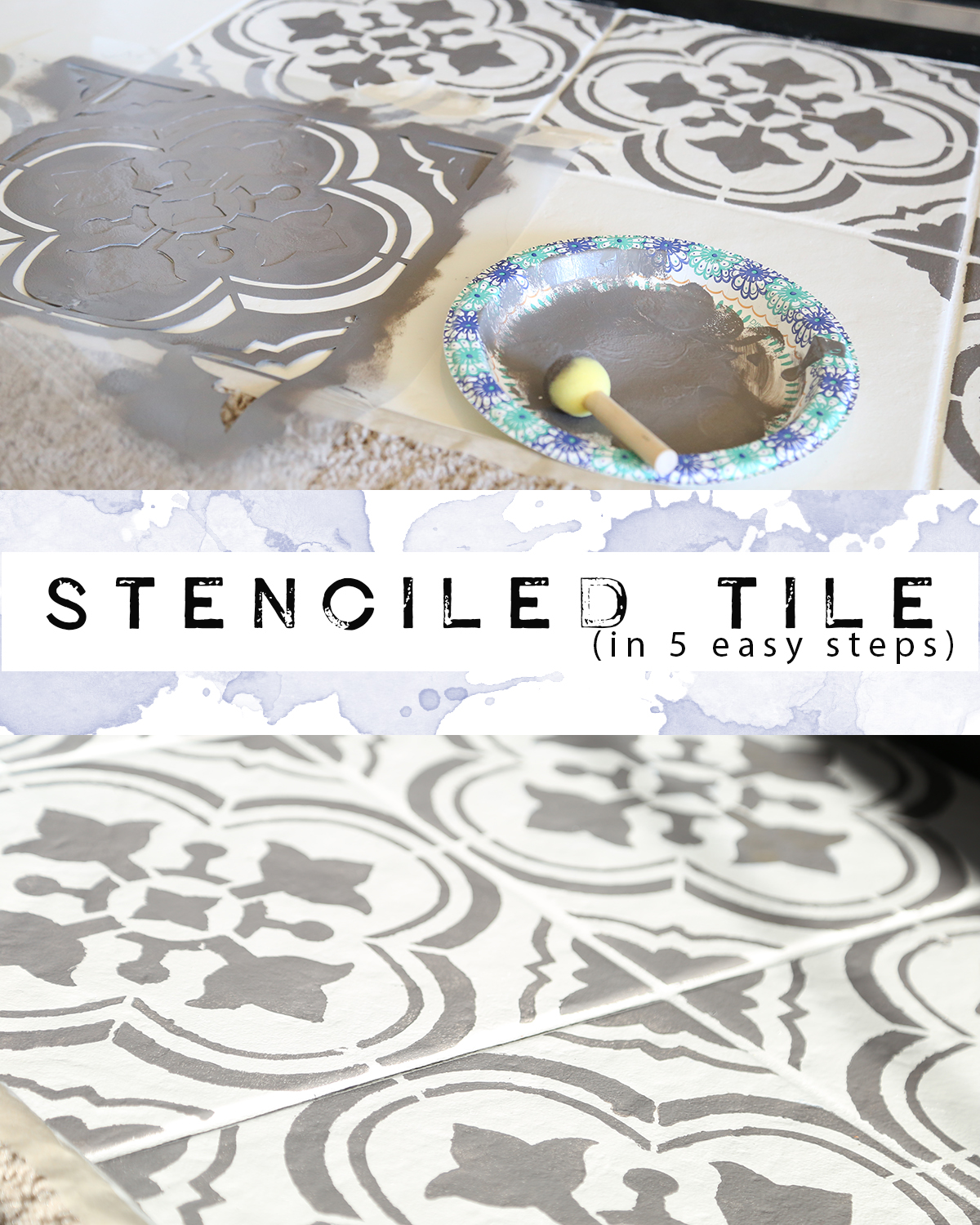 Tile Stenciling