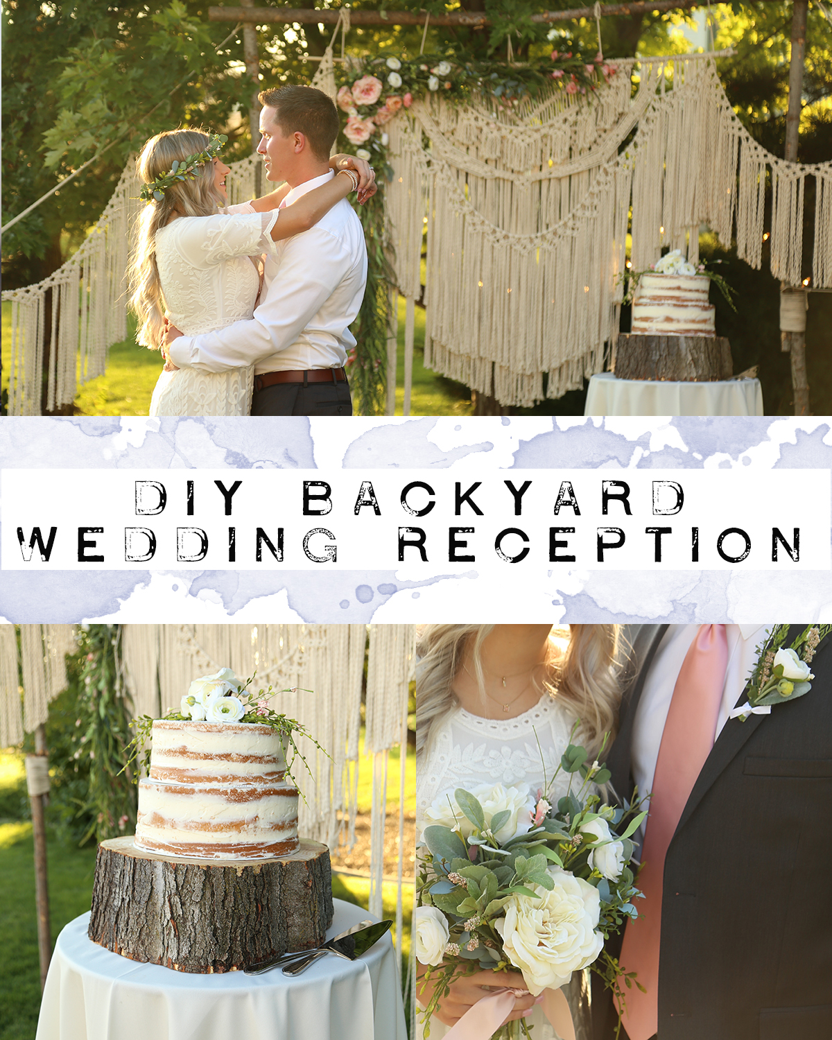 DIY Boho Wedding Recption