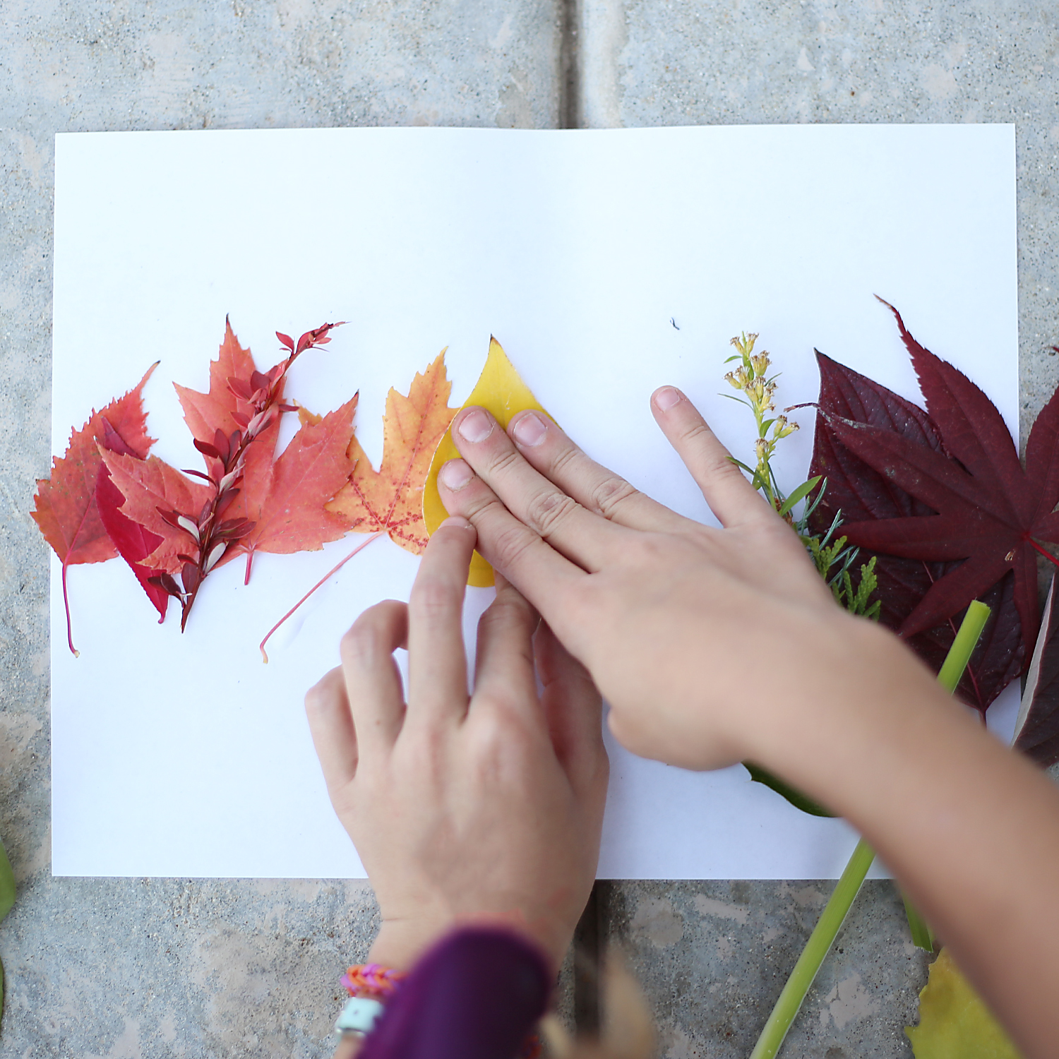 Fall Kids Art