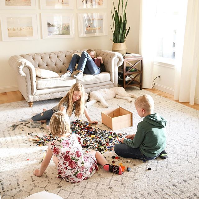 Somehow all of my kids decided not to play sports this spring, so we end up with lots of evenings like this— and I'm into it.  Do you ever get stopped in your tracks by everyday things?  That sun in the window is my favorite part.  Come on, summer!