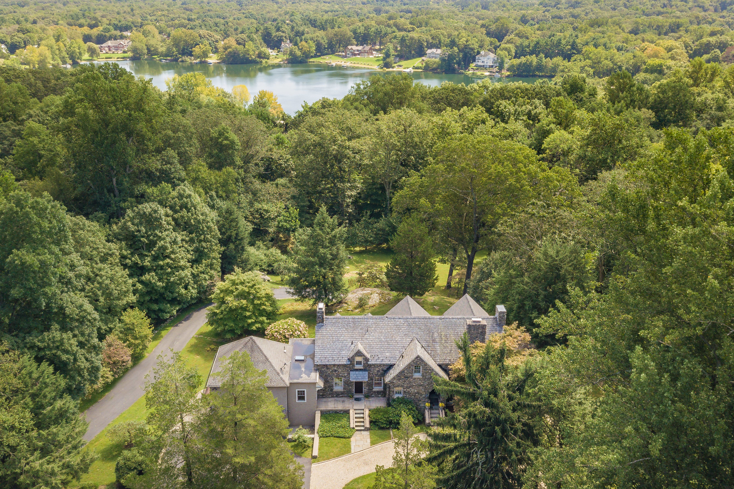 Drone with Lake_65 Cavalry Rd, Weston, CT 06883-2.jpg