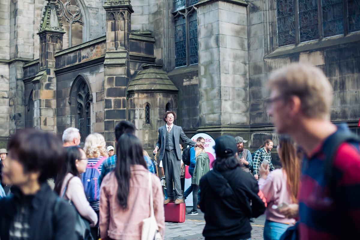 The Fringe Festival 2017 Edinburgh, Scotland