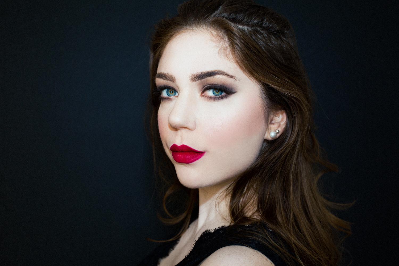 Vampy Makeup Beauty Shot by Victoria Smyrniotis