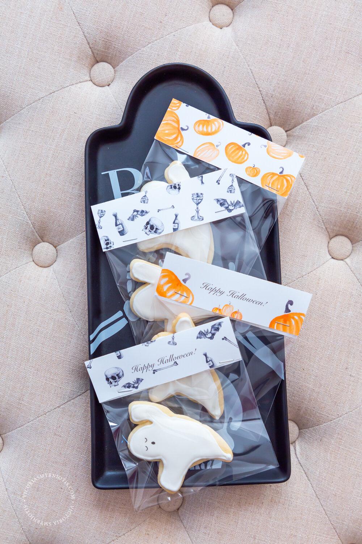 Halloween Cookie Tags by Victoria Smyrniotis