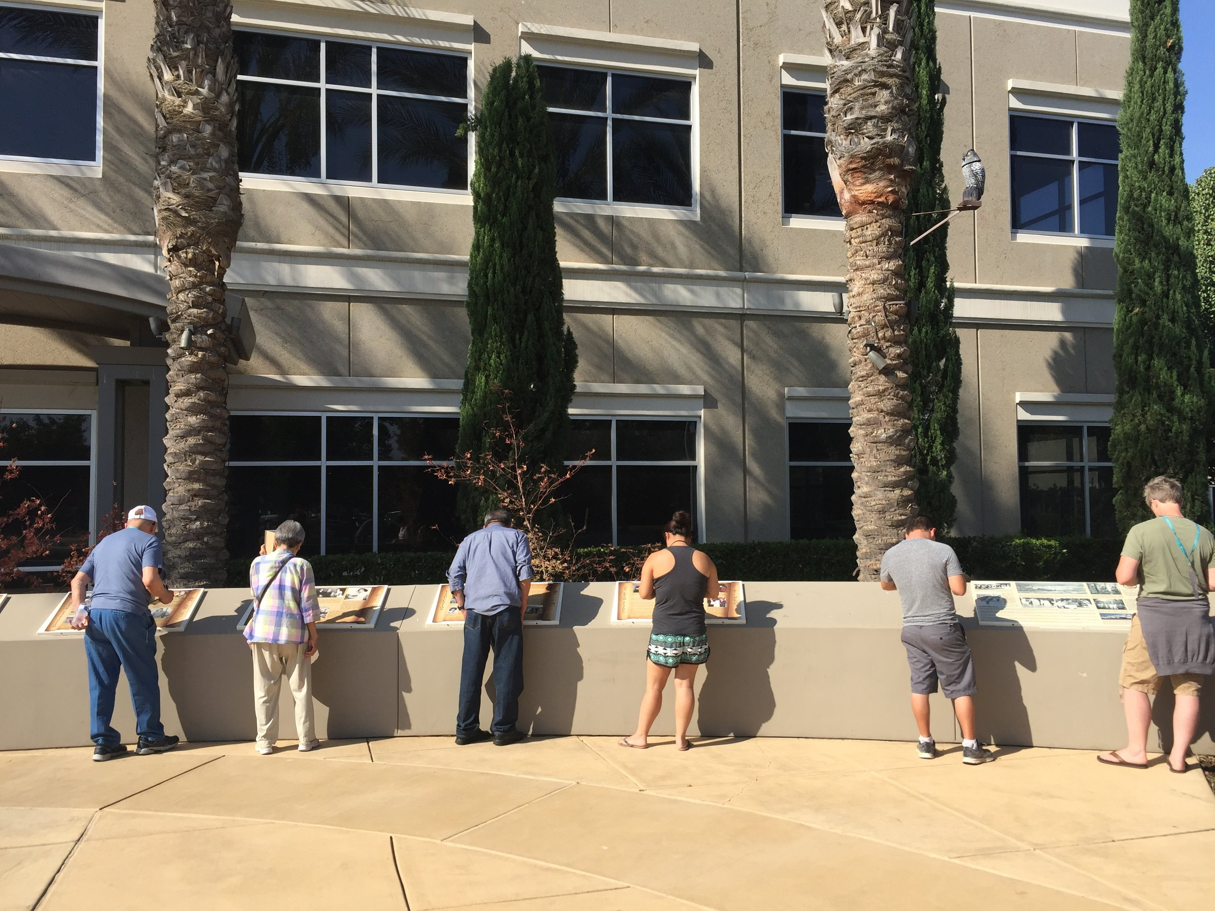 visit the pinedale assembly center memorial -