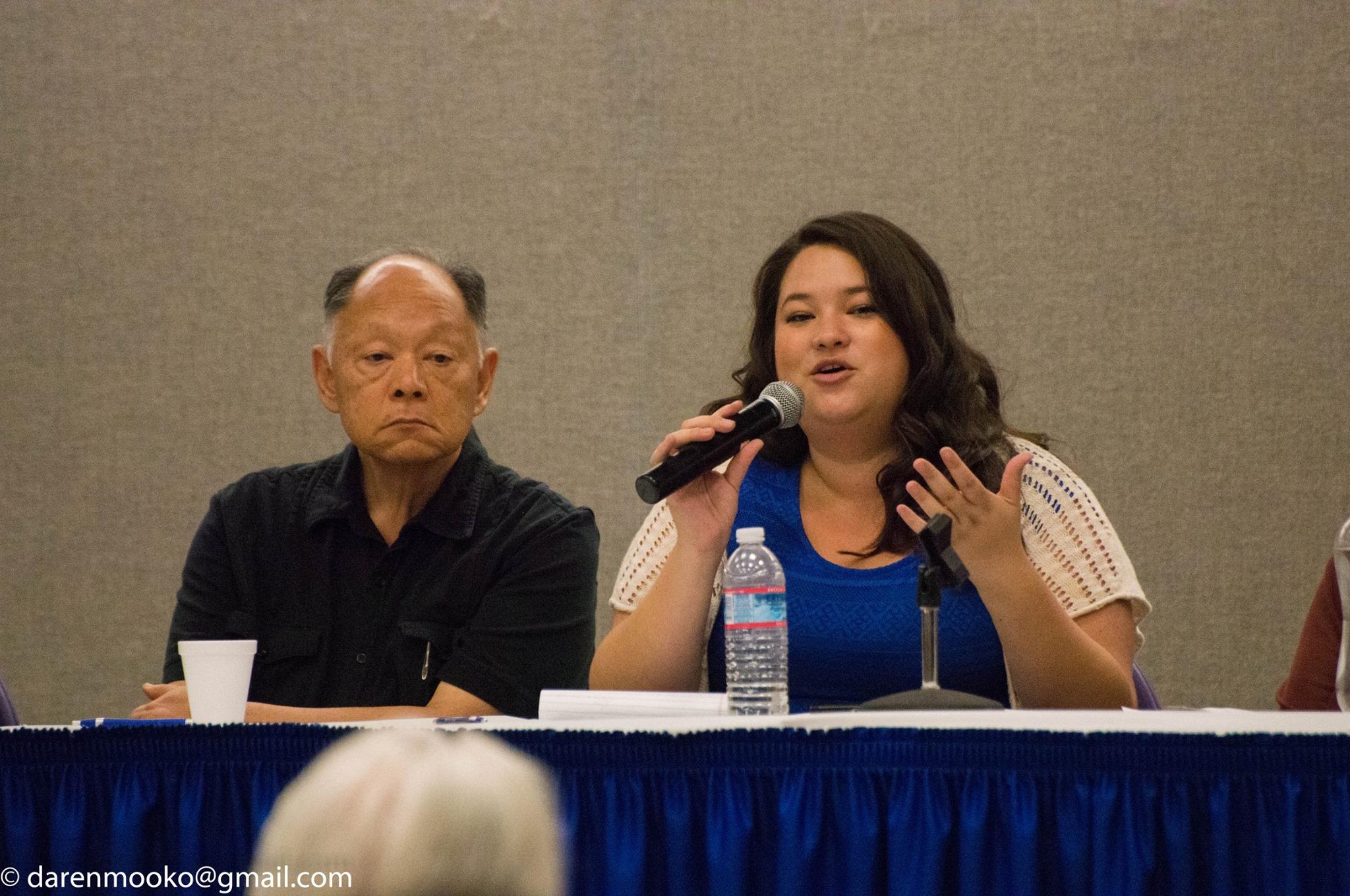 Right: Kristin Fukushima