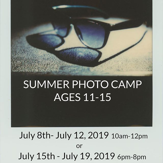 There are still some spots open for our summer photography camp!  Photography classes are open to any student ages 11-15, no previous experience is required.  Cost is $160 and includes a Canon Rebel camera loaned to students for the week, (2) professional 8x10 prints of their favorite images at the end of camp, and some fun with Polaroid film.  Classes will be held at Resurrection Catholic School, 402 Kings Hwy N, Cherry Hill, NJ 08034  7/8/19 - 7/12/19 10am-12pm, OR 7/15/19 - 7/19/19 6-8pm  Email  brimorsephotography@gmail.com to register  #teenphotography #teenphotographers