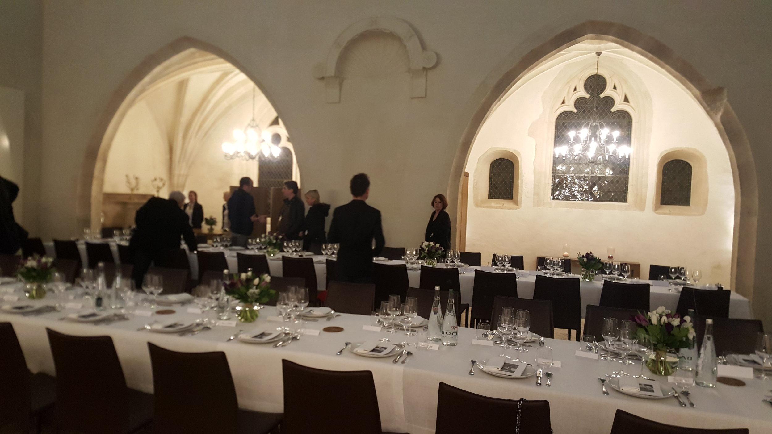 DINNER AT THE VINEYARD