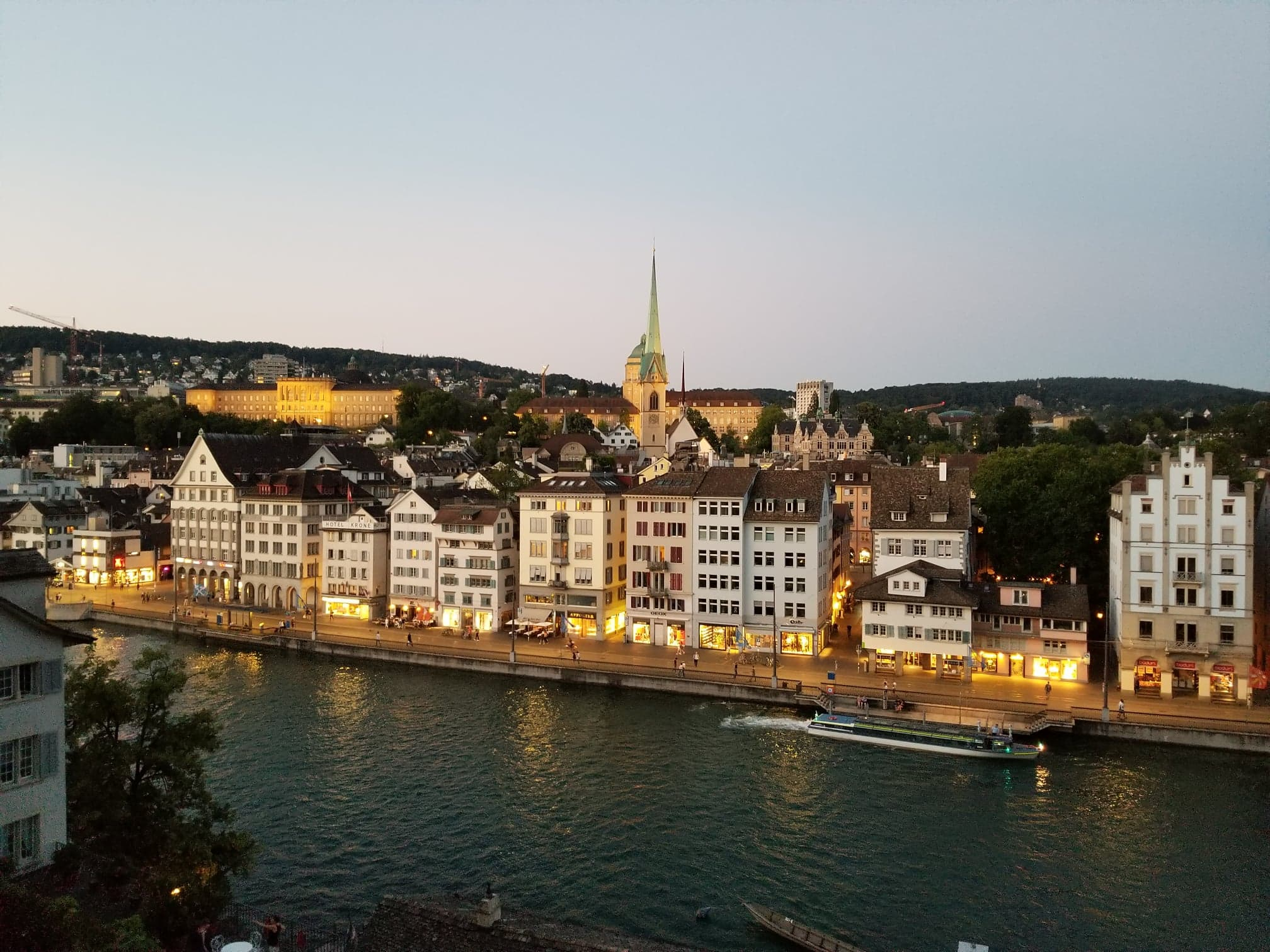 Night views from the Lindenhof
