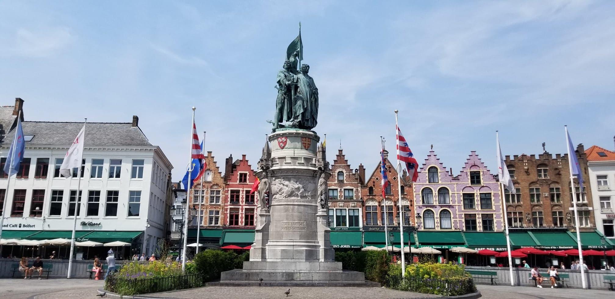 Brugge Markt Square