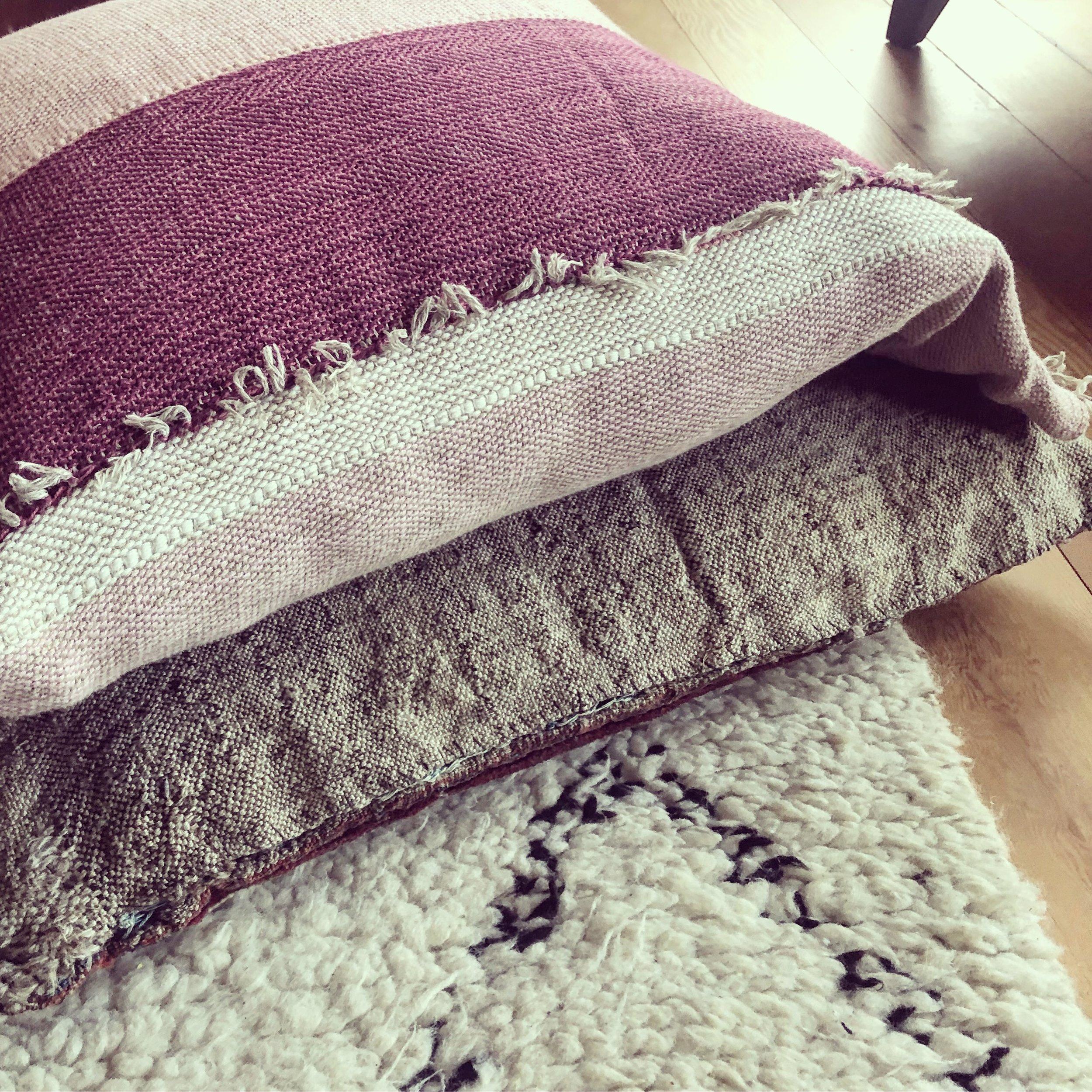 """""""Linen pillow slips"""""""