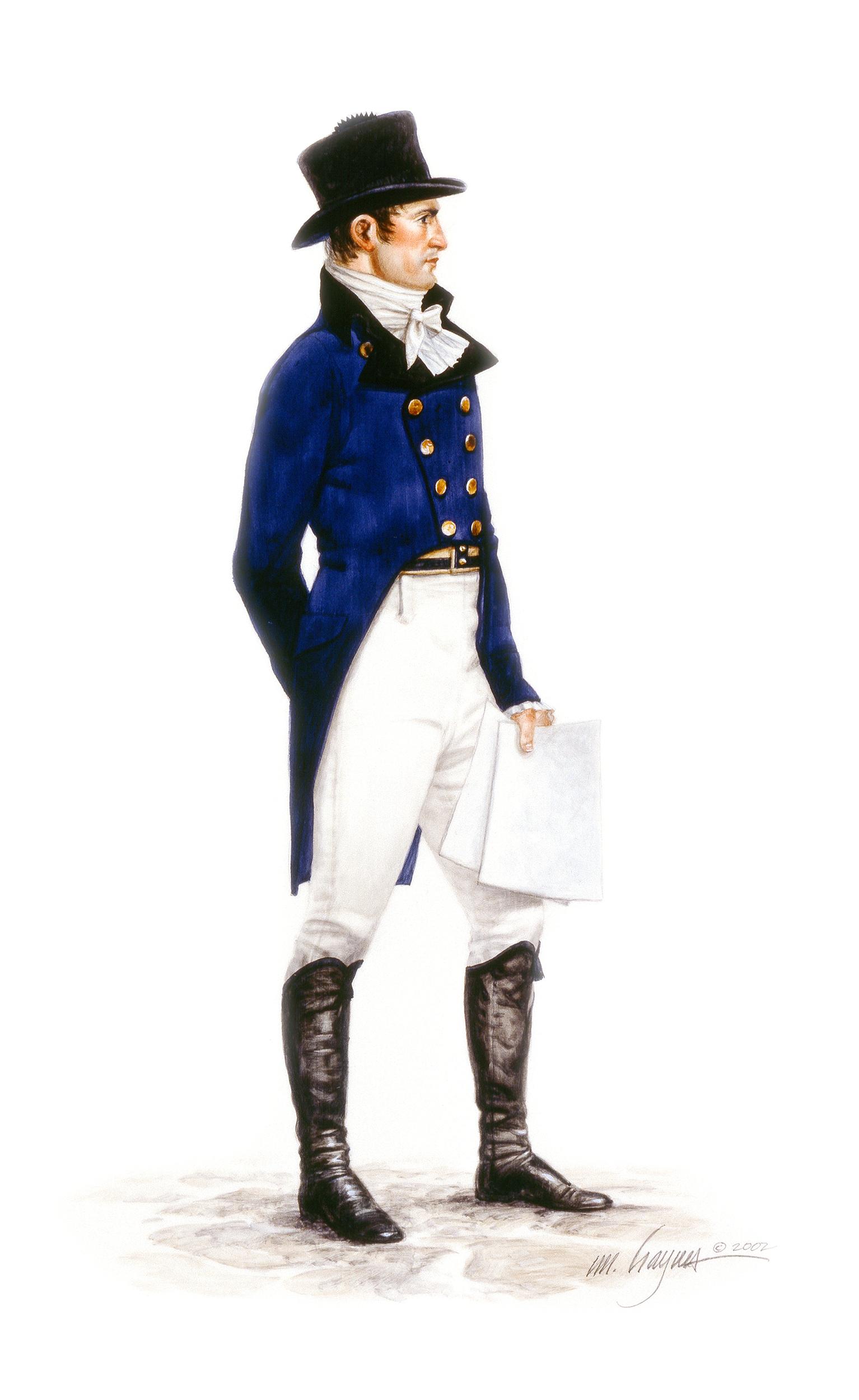 Lewis- Civilian Clothes