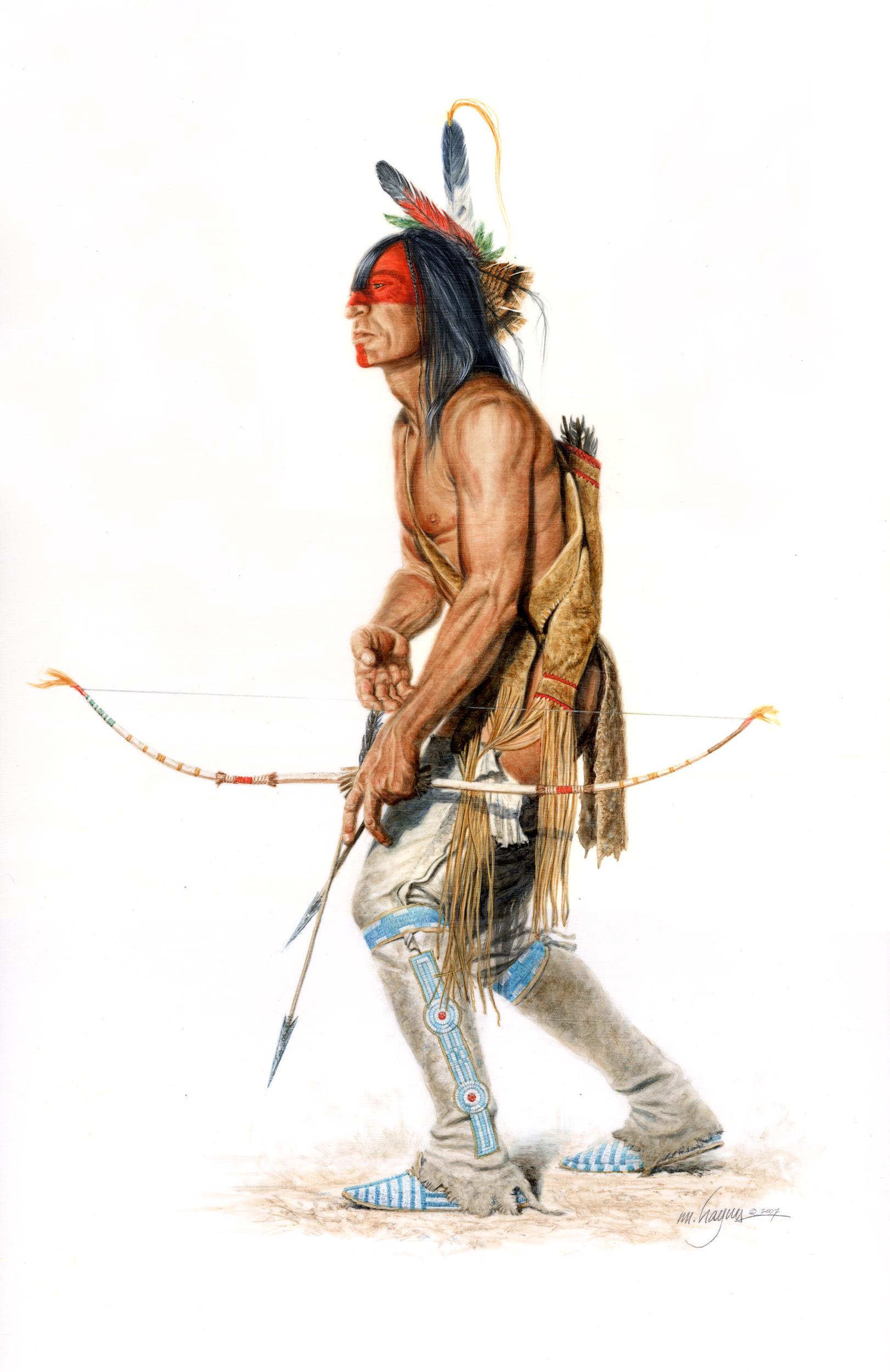 Arikara Warrior