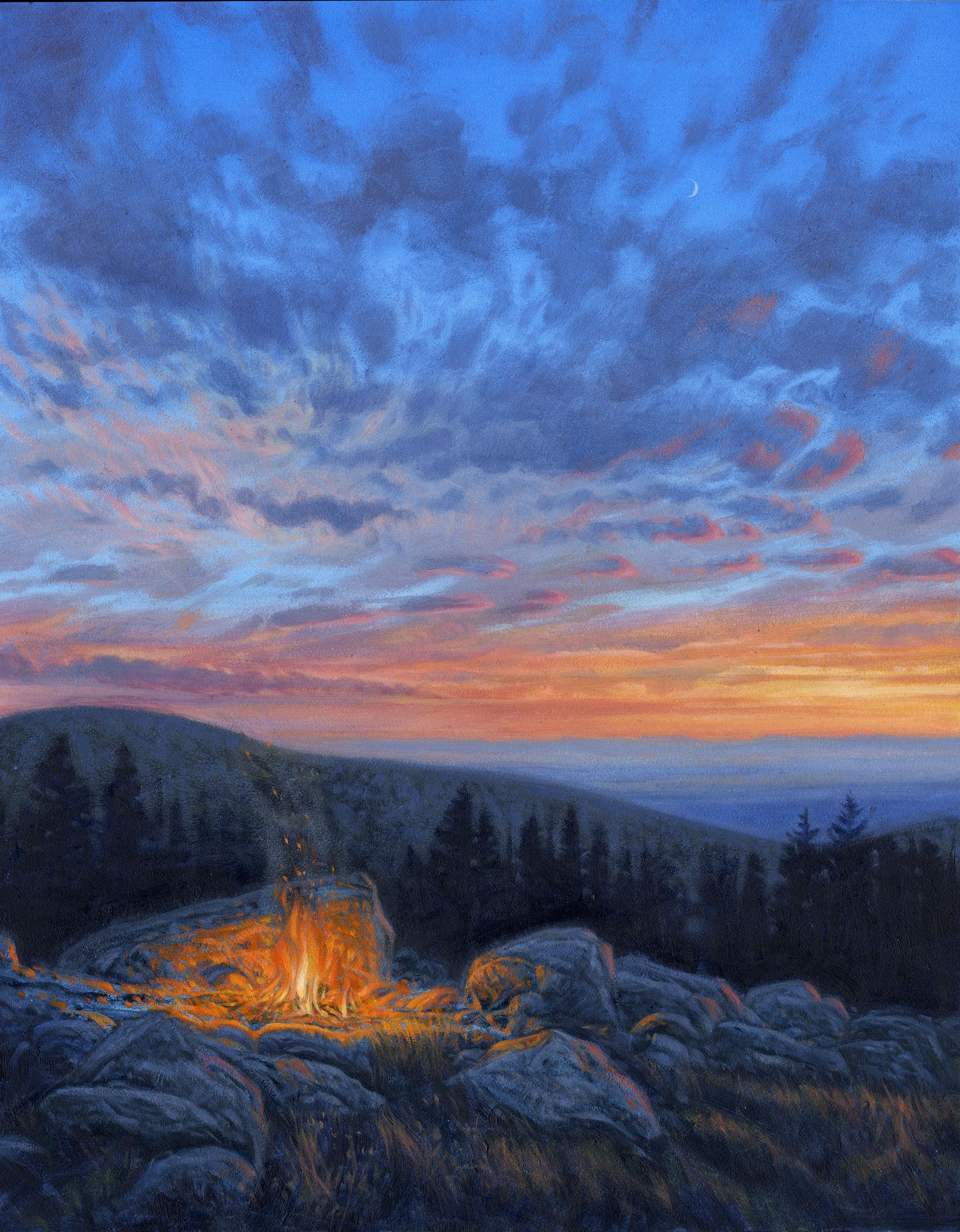 Bighorn Campfire