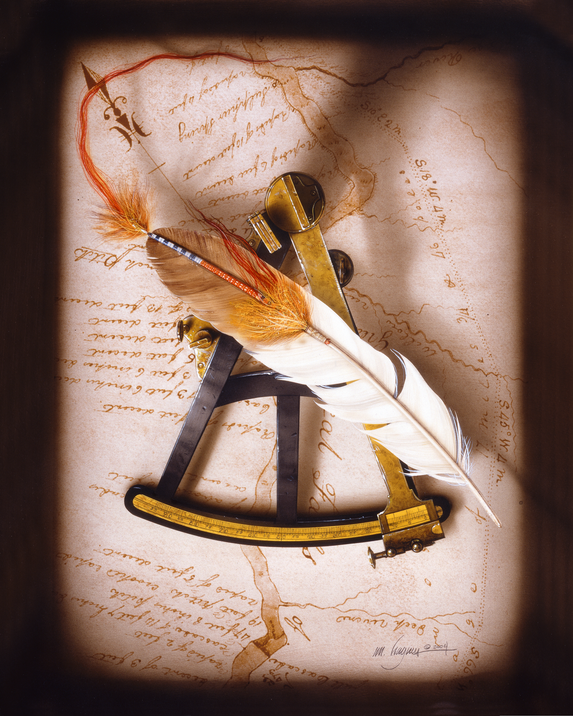 Feather, Octant and Map