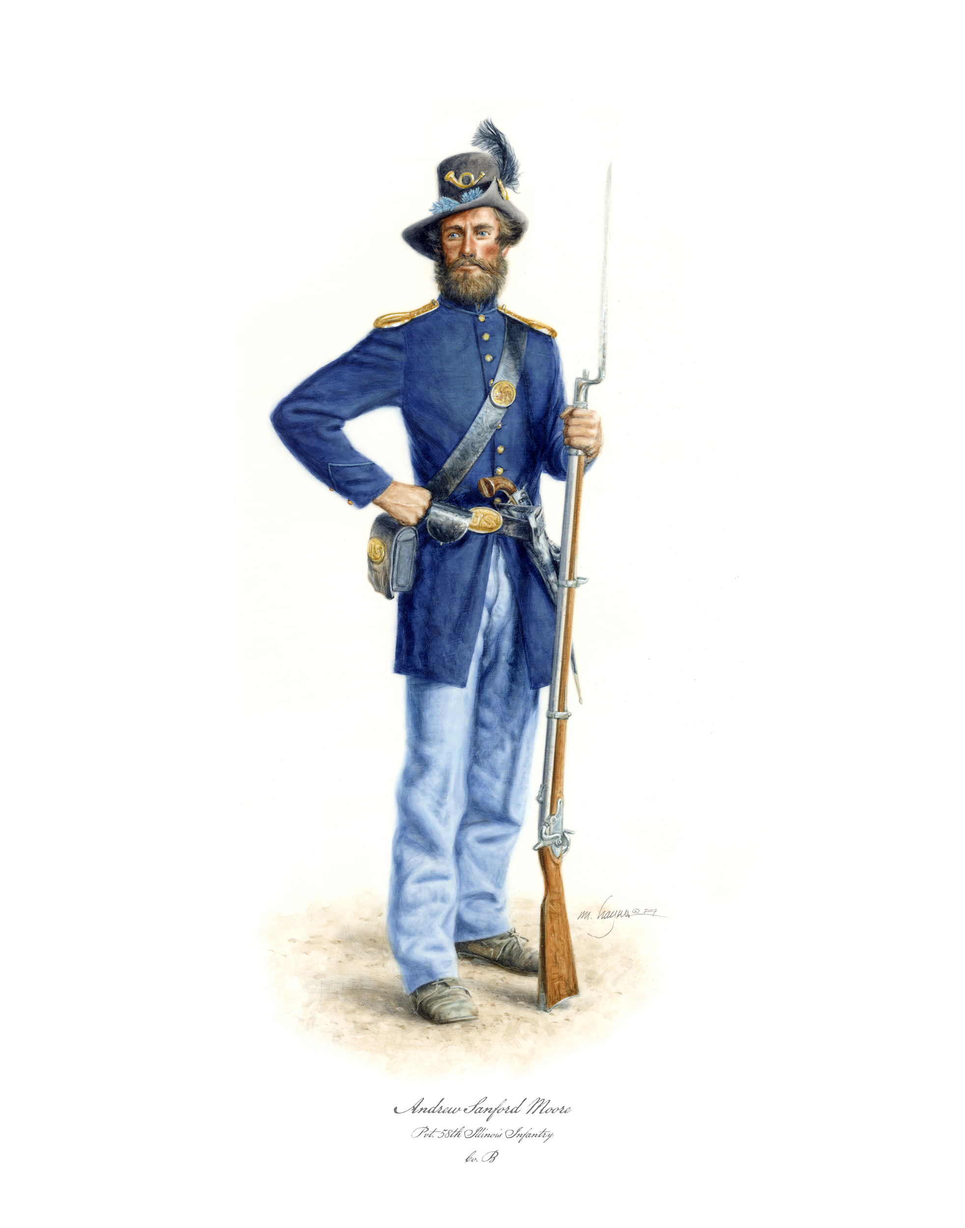 Pvt. Henry Moore