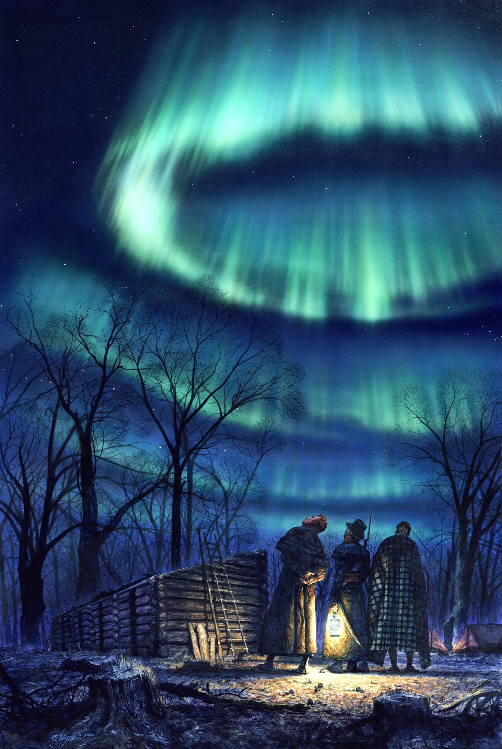 Northern Lights- Ft. Mandan