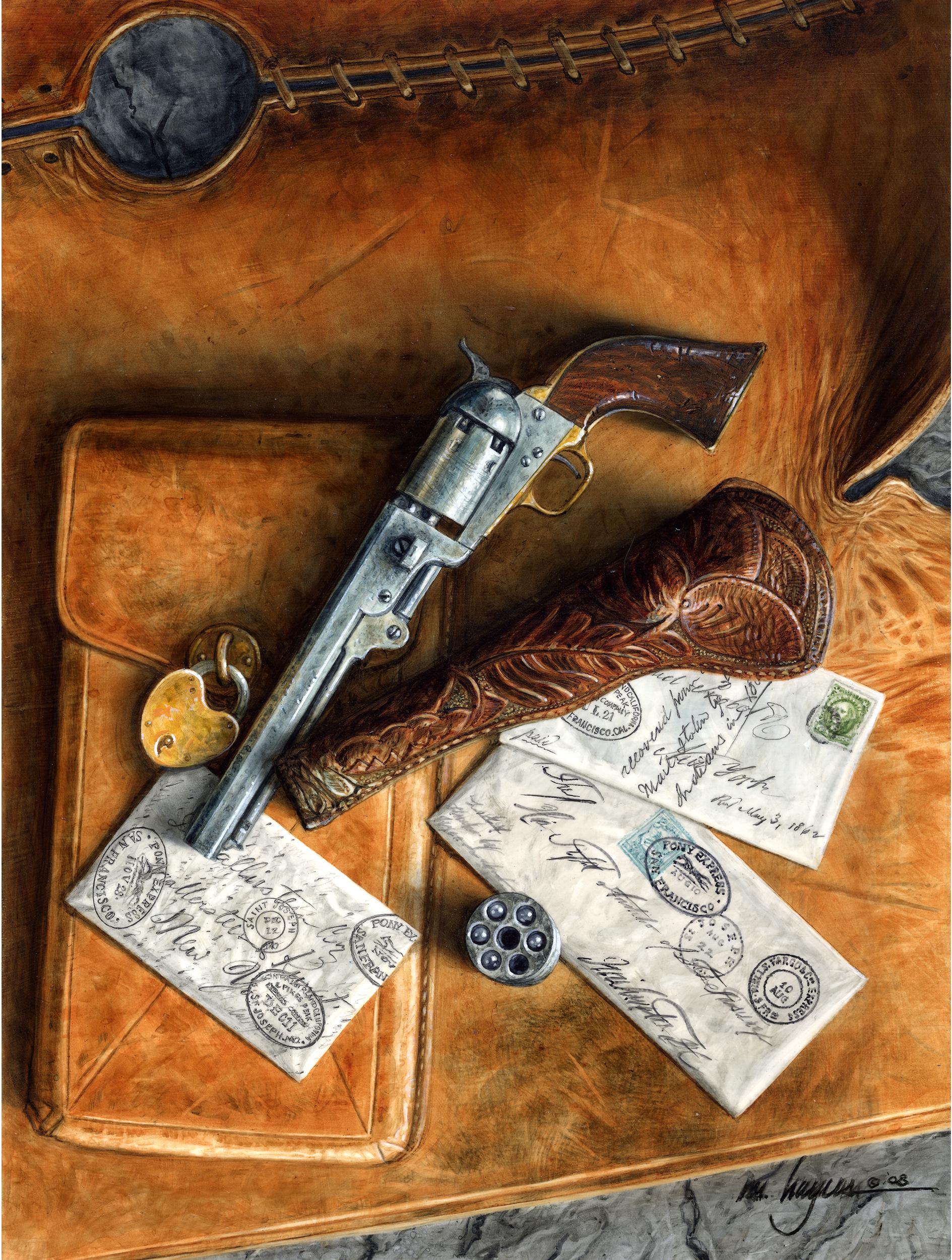 Pony Express- 1851 Colt