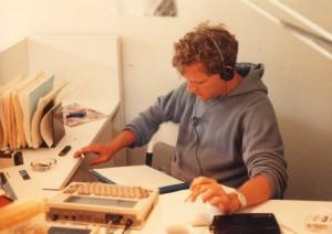 Howard at work