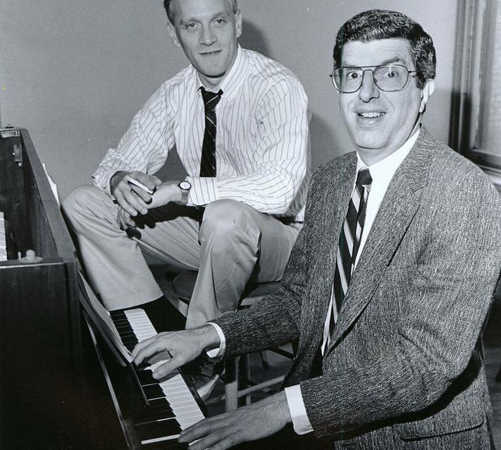 Howard and Marvin Hamlisch