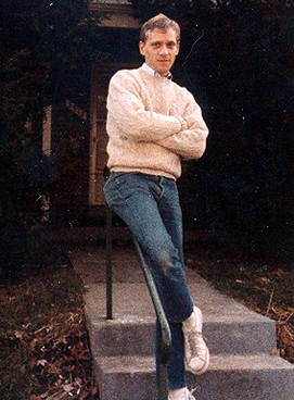 Howard at his childhood home, similar to the family home described in The Confirmation.