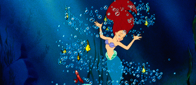 """""""The best of animation has combined with show-business savvy making The Little Mermaid the most entertaining animated feature since The Yellow Submarine."""" David Denby, NY Magazine"""
