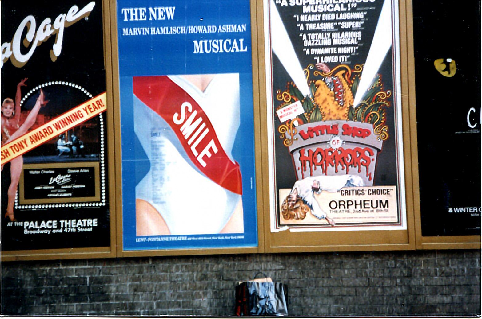 Shubert Alley, 1986