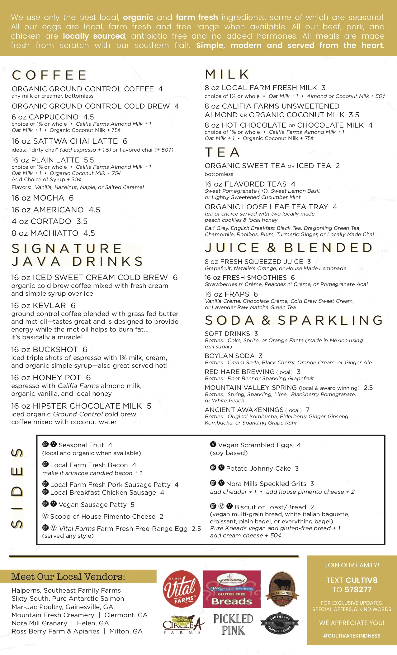 Weekend Coffee and Brunch in Atlanta