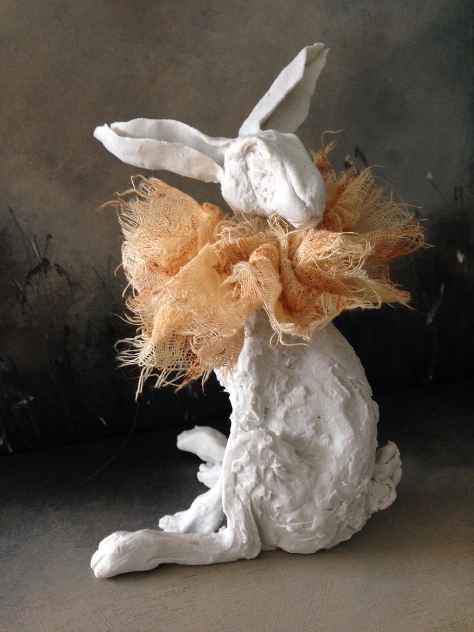 'Ruffle Hare I' - SOLD