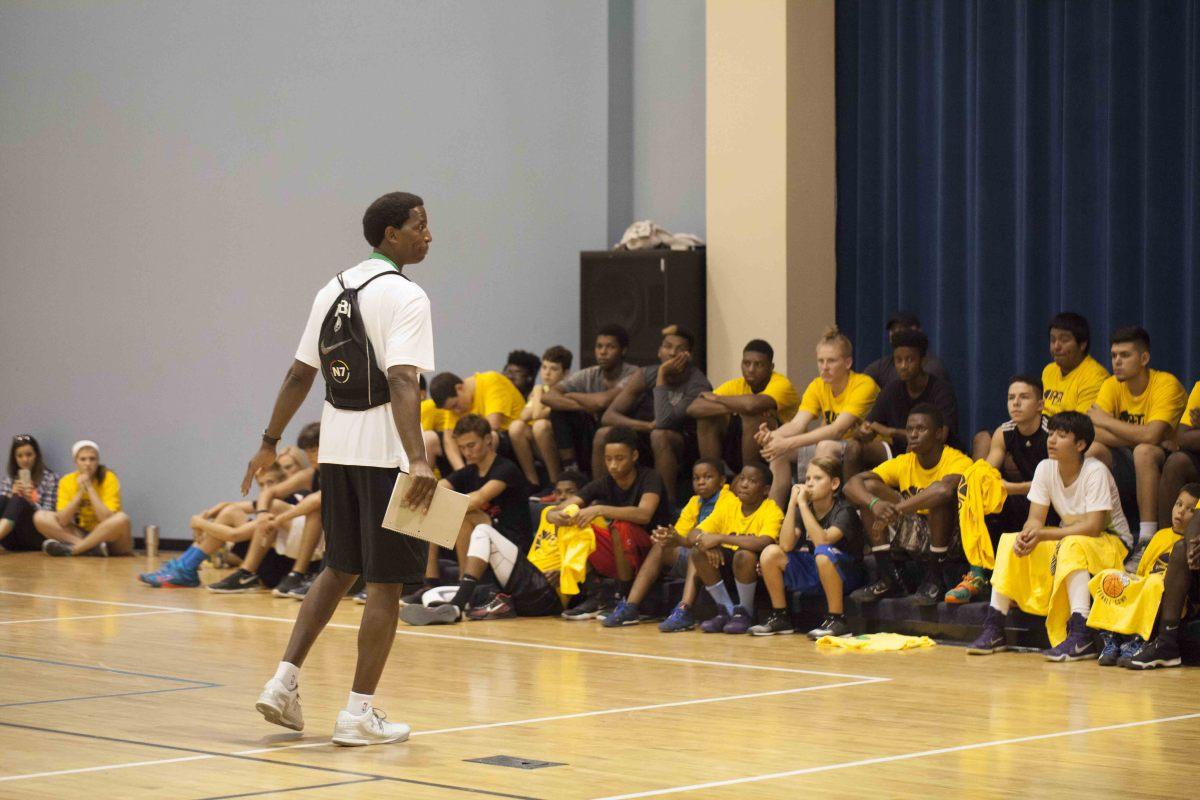 AC Green - Basketball Camp