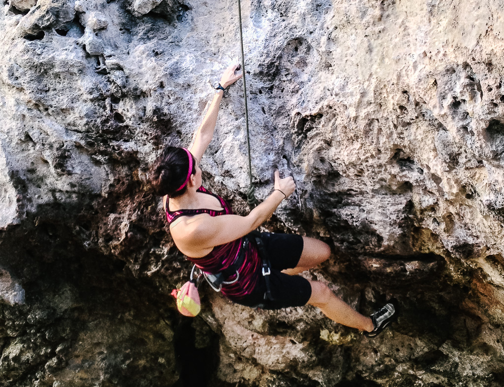 exercise - Yoga. Give me all the yoga. And throw some rock climbing in there while you're at it.