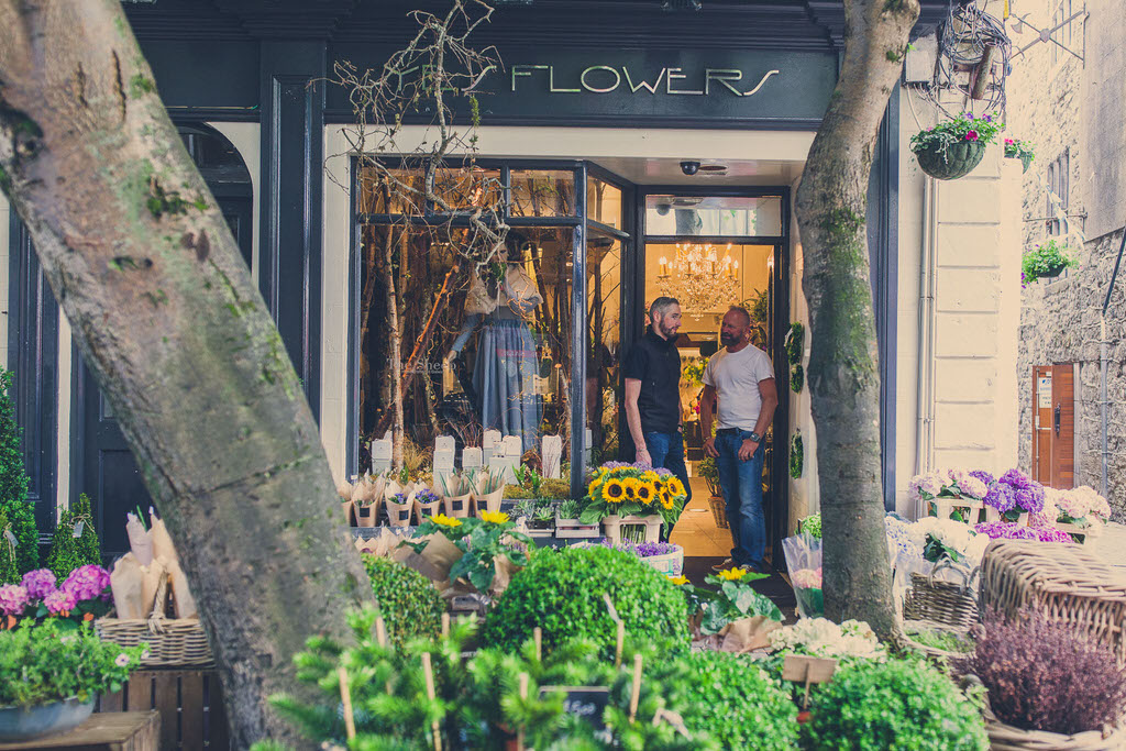 yes flowers. florists in galway. floral shop galway