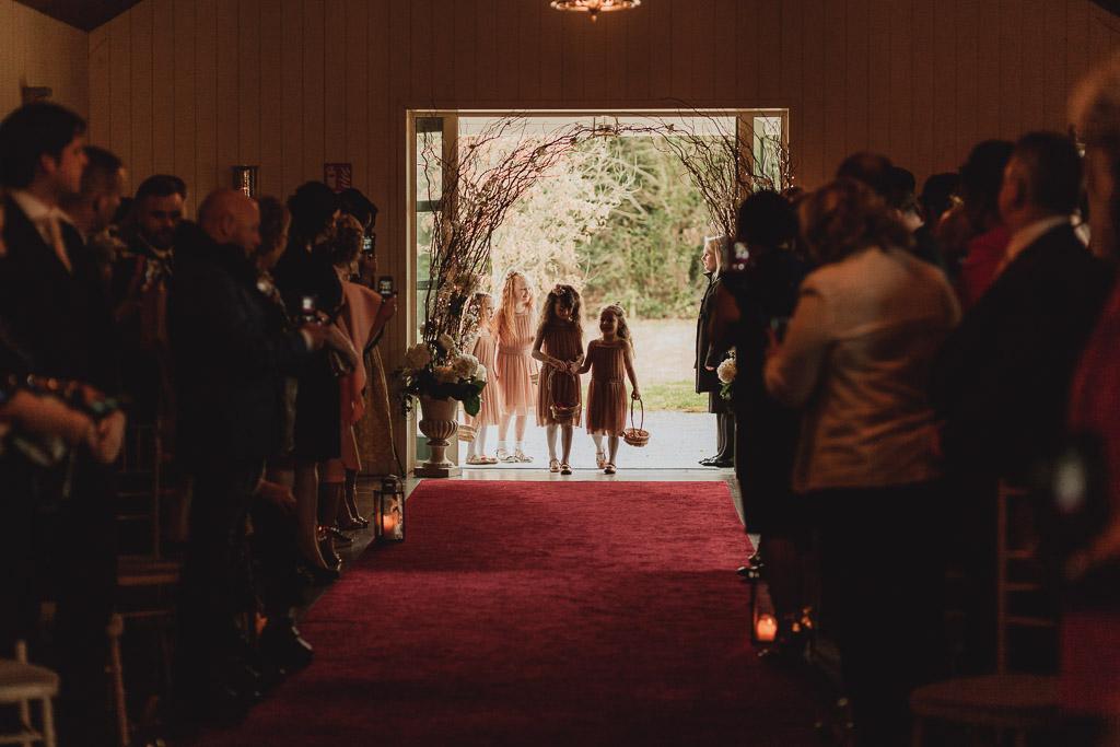 wedding ceremony in clonabreany house
