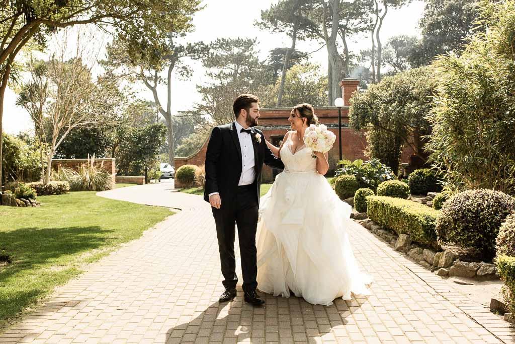 wedding at portmarnock hotel dublin