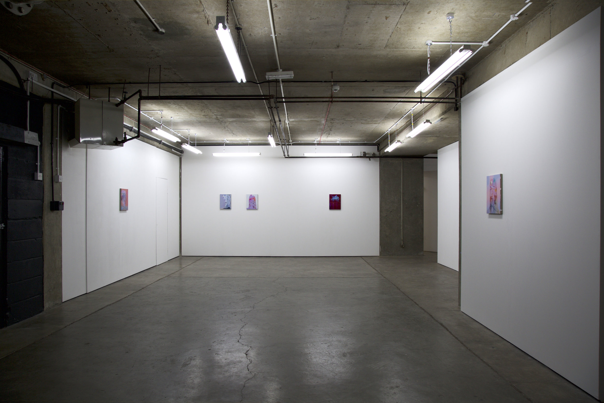 Face Is The Closest  (installation view), 2017, Block 336, London