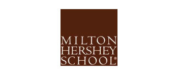 maroon Milton Hershey School logo