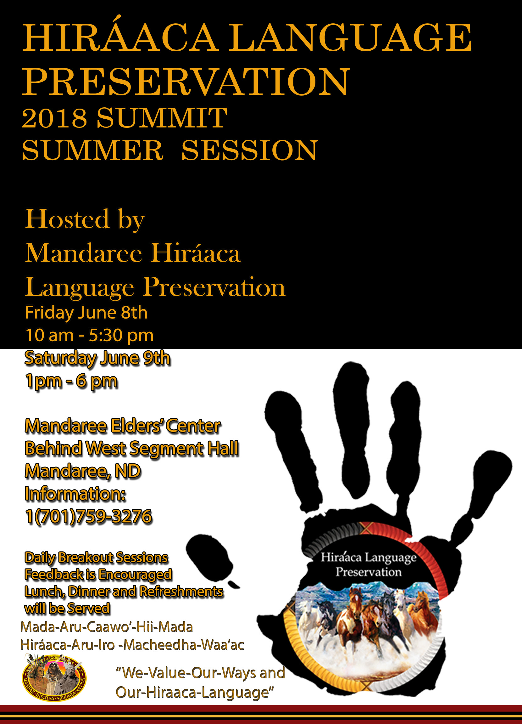 Hiraaca language Preservation 2018 Summit Summer Session.jpg