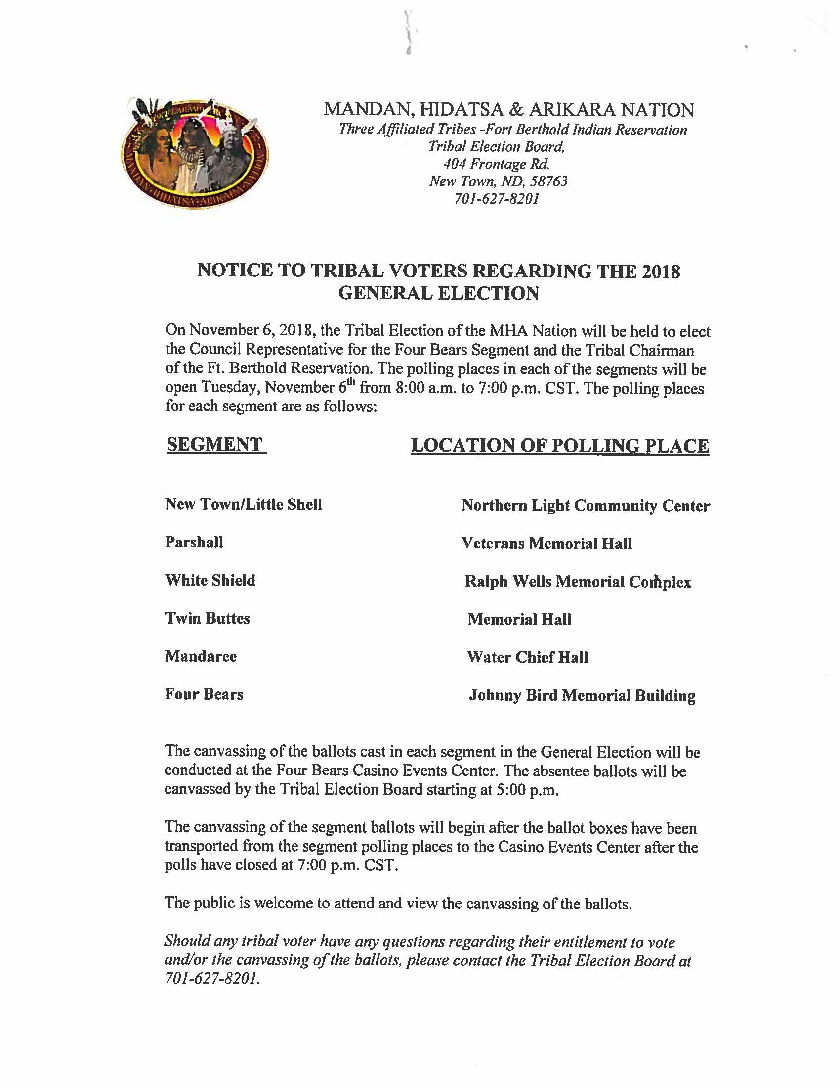 Notice to Tribal Voters Regarding the 2018 General Election.jpg